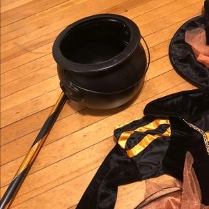 spooked Costumes - Size 3t Toddler witch costume